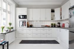 Armários de cozinha clássica moderna para o Project