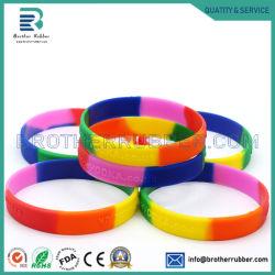 Индивидуальный логотип различных размеров силиконовые браслеты/силикон полосы