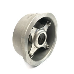 Tipo zero valvola di ritenuta della cialda dell'acciaio inossidabile della guarnizione di perdita di pressione zero dell'elevatore della discoteca