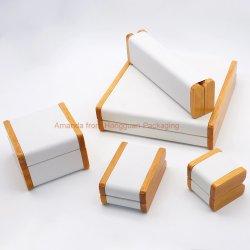 Boîte cadeau d'emballage en bois pour les bijoux