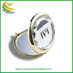Custom conforman el Metal redondo Espejo Espejo Compacto fabricante