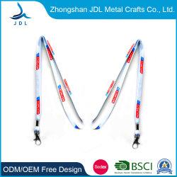 Les fabricants en Chine nom amovible de Sublimation de marque personnalisée Longes avec carte d'ID de cuir (006)