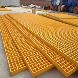 1400*4200/1220*3660 anticorrosieve Grating van de Geul van de Vloer van de Glasvezel Plastic