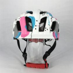 Белый Silk-Screen PC in-Mold Детский шлем для 5 - 7 лет