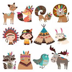 5D de la pintura de diamantes puzzles para niños de la pegatina de animales