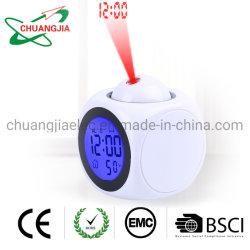 Voice Alarm Clock со временем потолок проекцию для спальни