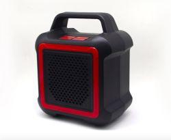 휴대용 Bluetooth 5.0 입체 음향 무선 스피커 사각 공원 음악 플레이어