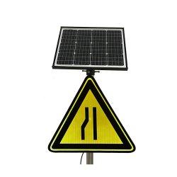El calentamiento solar de luz LED de señal de tráfico de la Junta para la Seguridad Vial