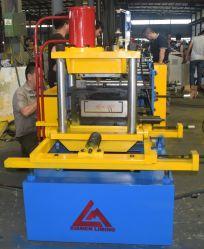 Hydraulisches Ausschnitt-Stahlprofilautomatische C Purlin-Rolle, die Maschine bildet