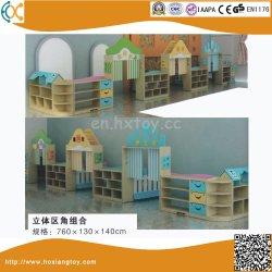 Mobilia prescolare di legno di asilo della Cina del giocattolo di memoria dei bambini all'ingrosso della mensola