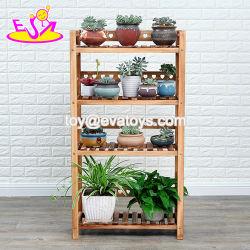 Miglior Design quattro strati di legno Fiore Shelf per decorazione giardino W08h107