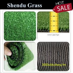 Синтетические травы пластиковые обманное движение искусственных газонов газон 10мм с хорошей поддержкой сад и ландшафт