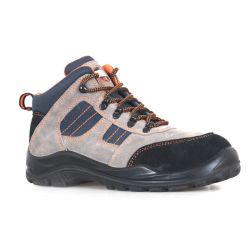 Schoenen van de Veiligheid van het Suède van de man/van de Vrouw de Schoenen van het van het de Toevallige/Schoeisel/Werk van de Veiligheid/het Schoeisel Sn6055 van het Werk