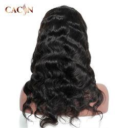 卸し売り自然で長いブラジルの完全なクチクラによって一直線に並べられるバージンのRemyの人間の毛髪のレースの前部かつら