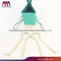 65MN Рессорный палатка отверстие трубки стопорную пружину, V-образный стопорное нажмите один/ Двойная кнопка пружинные замки, V пружинные зажимы для трубопровода