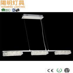 ثريا كريستالية صينية إنارة عائلية / مدلاة LED بجودة عالية خفيف