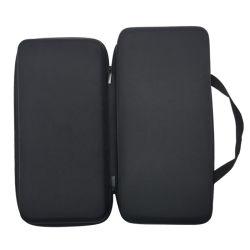 携帯用ケース、デジタル音声のレコーダー、MP3プレーヤーのための堅いケースカバーを、USBケーブル、イヤホーン運ぶエヴァのジッパー