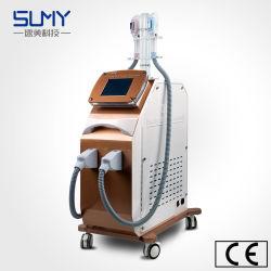Medische Machine Twee IPL van Handvatten Apparatuur van de Schoonheid van de Verwijdering van het Product van het Haar de Verwijdering Geraffineerde
