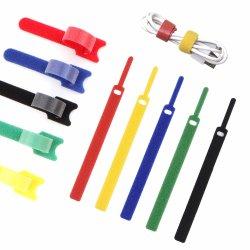 Mehrfachverwendbarer Reißverschluss bindet Befestigung-Kabelbinder-Brücken für Telefon-Draht