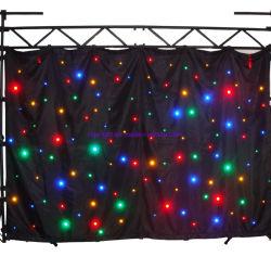 Rigeba LED Star Cloth Gordijn LED-fonkelend Starlit Gordijn LED Starlit effect Light voor Events Show