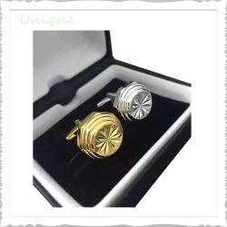 Usine de gros bouton Fashion Metal Crafts Cufflink Gemelos Silver Gold émail en laiton Brassard Lien pour la décoration de chemise