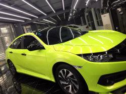 Brillant vert fluorescent Full Car l'autocollant Vinyle auto-adhésif