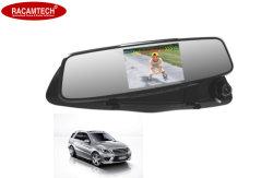 """"""" magnetoscopio della macchina fotografica dell'automobile dello specchio di Rearview della macchina fotografica del precipitare dell'automobile 4.3 con il GPS"""