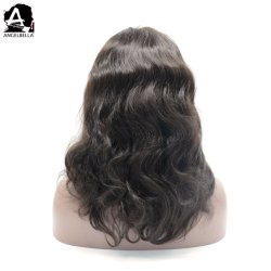 Angelbella main liée perruques 100 % de cheveux humains Full Lace Wig