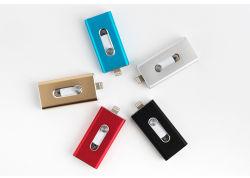 3 in 1 OTG USB 플래시 드라이브 8GB 16GB 32GB 휴대폰용 64GB USB 메모리 스틱