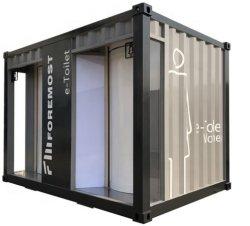 12ft E-aseo/baño portátil / Cuarto de baño/contenedor Contenedores sanitarios