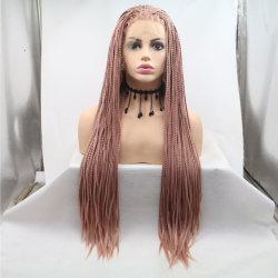 2019女性のための人間の毛髪のかつらのブレードの毛のかつらを編む総合的なブラジルのマルチカラーRemyの毛