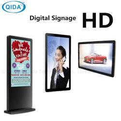 LCD interior Ad/ADS/Aeropuerto Publicidad Feria 42/43/47/49pulgadas de pantalla de señalización digital permanente reproductor de vídeo
