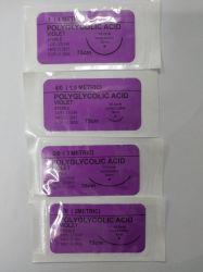 Экранирующая оплетка синтетических Absorbable Polyglycolic кислоты местного обезболивания