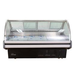 Migliore frigorifero superiore Choice della vetrina del congelatore della visualizzazione del frigorifero/frutti di mare della visualizzazione della carne di memoria aperta