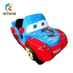 遊園地の小型電気豊富な子供の乗車