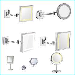 Specchio di rasatura cosmetico chiaro di trucco della stanza da bagno LED