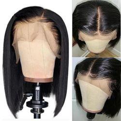 Оптовые цены на естественный цвет бразильской Реми человеческого волоса Боб Wig