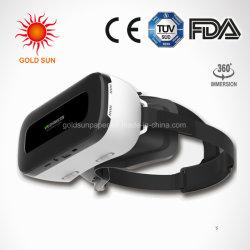 Lunettes 3D VR case Casque 2.0 vidéo 3D de réalité virtuelle Lunettes avec contrôleur de manette de jeu pour Samung Bluetooth