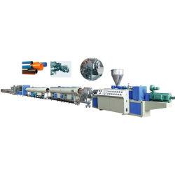 Пластиковый ПВХ/CPVC/UPVC воды& электрический каналом трубы и трубки (экструдер, перевозка, обмотка возбуждения среза, belling) штампованный алюминий/выдавливание решений производственной линии машины
