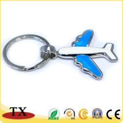 금속 공기 비행기 형식 열쇠 고리를 착색하십시오