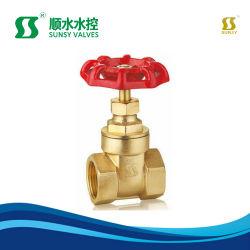 Ss1010 Bsp NPT 금관 악기 게이트 밸브 고급장교 줄기