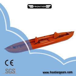 10FT infláveis laranja única Pessoa Colapsáveis PVC/Material Hypalon caiaque de recreio