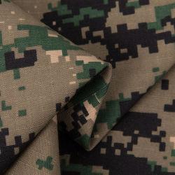 Têxteis de algodão Poliéster Ripstop 230gsm tecido camuflagem militar do Exército