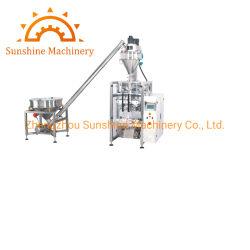La leche cruda de harina de soja en polvo Helado de glucosa en la máquina de embalaje
