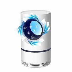Lampada dell'assassino della zanzara, lampada della zanzara del USB, presa della zanzara dell'errore di programma, indicatore luminoso di notte del LED per l'ufficio domestico della camera da letto (bianco)