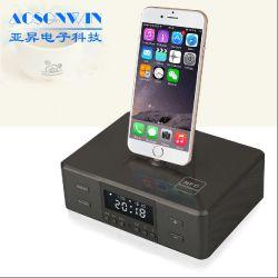 Производитель беспроводной связи Bluetooth динамик будильник с док-станции