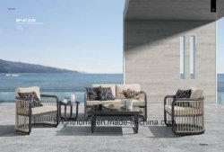 Sofà esterno della mobilia dell'intera di svago del rifornimento della fabbrica dell'hotel di disegno del giardino del sofà casa speciale di alluminio del patio
