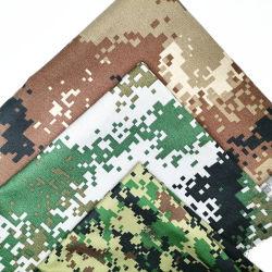TC 65/35 32*32 130*70 قماش ثابت مطبوع مضاد للنسيج الثابت لجيش الصبغات