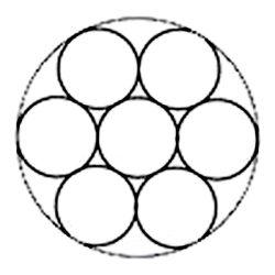 Corde de fils en acier inoxydable métalliques décoratifs Tissu de clôture
