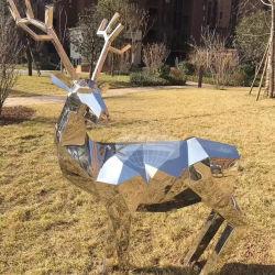 Estatua de animales del jardín de esculturas de acero inoxidable (GSST-101)